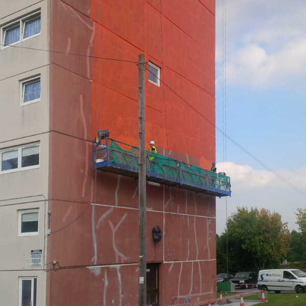 Concrete Repair of Tower Block
